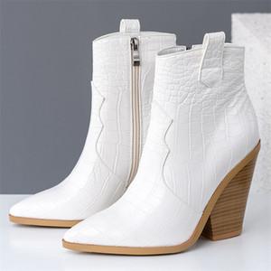 11 Colors Plus size 34-46 New women boots zipper thick fur snow boots warm winter women's shoes ladies ankle boots female shoes210