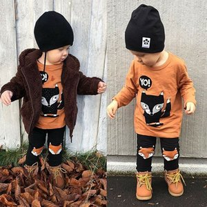 Pudcoco Boy Set Toddler Kids Baby Boy Tops T-shirt Long Pants Outfit Set Clothes - LJ201203
