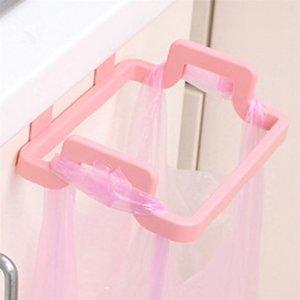 1PC New Garbage Sucker Hot Plastic Rubbish Holder Rack Door Bathroom Portable Can Kitchen Bag Storage Best Sink Home Supply Cgfrh