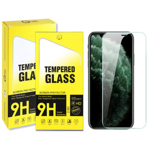 For 2020 New iphone tempered glass Screen Protector 9H 2.5D For iphone 12 11pro max x with retail box