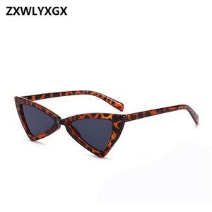 Lunettes de soleil rétro ZXWLYXGX Mode Femmes Cat Eye Designer Lunettes de soleil rétro noir lunettes de UV400