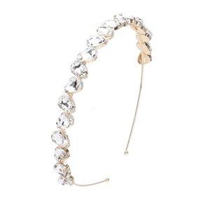 Cabelo Bing lindo festa de jóias azul rosa claro Crystal Stone Hairbands Rhinestone Diamante Headband para Charming Mulheres Sp02