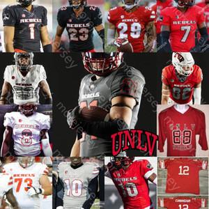 Personalizados 2020 UNLV Rebels Jersey de fútbol americano universitario NCAA Randall Cunningham Kenyon Oblad Charles Williams Randal Grimes Steve Jenkins Magyar