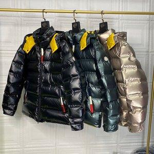 Moncler Monclair Designer 2020 Mens Down Jacket soprador de Inverno Casacos com capuz 90% de ganso Homens Pullover Windbreaker Moncle Homem bodywarmer Jackets Maya
