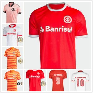 2020 Club SC Internacional Guerrero Brasil Octubre Rosa Soccer Jersey Pink N. Lopez Camisa de Futebol Football Shirt 20 21