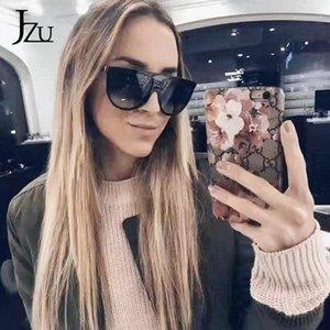 Солнцезащитные очки Ким Кардашьян (Ким Кардашьян) Женский Красивый ретро Плоская тонкая Тонкая Тень Площадь Pilot Роскошный Дизайнер BI1