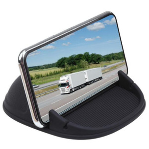 phone holder,Car Phone Holder Dashboard Non-Slip, Anti Slip Mounts,silicone bracket, Suitable for all types of phones and small tablets