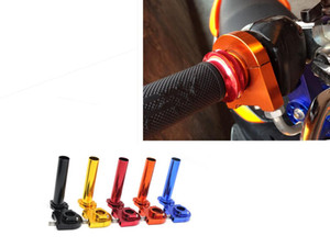 "7 8"" inch 22mm motorcycle modified parts throttle rotation handle torque aluminum alloy accelerator for Grip accessories"