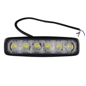 12V-24V Tirali sottili per auto a LED Spother Flower LED a prova di esplosione e antiurto Strobe Light Emergency Lamp Automobile