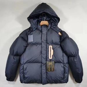 Aşağı Ceket Parka iki renk S-XL Ördek Yeni Stil Lüks Kadınlar Kısa Kış Coat Kalın Gevşek Aşağı Ceket Ekmek Ceketler Yüksek Kalite Beyaz