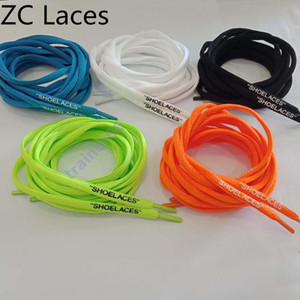 2020 hot New Shoelace Unisex Ropes Multicolor Waxed Round Cord Dress Shoe Laces Diy High Quality Solid 100-150Cm Colourful Shoelace