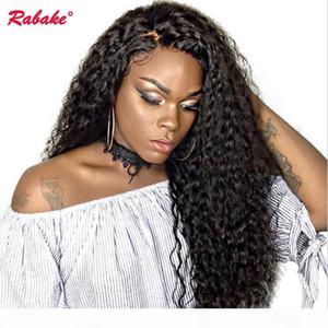 Brésilien Virgin Remy Full Dentelle Perruques Humaines Perruques Rabake Péruvien Afro Kinky Curly Gloules Soie Full Dentelle Perruque Perruques pour Black Femmes