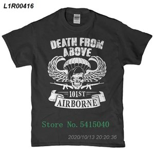Printed Kleidung Stil Tees Sommer-Top Fitness Brand - Death From Above 101st Airborne-T-Shirt 16191410