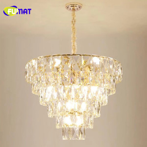 FUMAT Luxury atmosphere K9 crystal lamp postmodern light  living room lamp 2019 new lighting hotel restaurant crystal chandelier