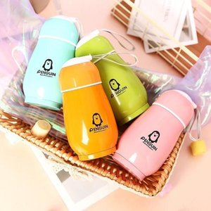 Wholesale price super stylish cute rabbit penguin children stainless steel insulated water cup 170ML