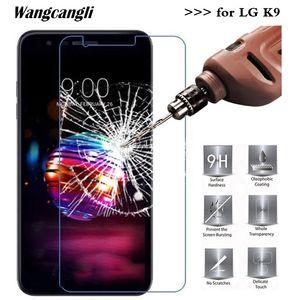 Wangcangli 2.5D pour LG en verre trempé K9 Protecteur d'écran 9H Film protecteur d'écran anti-chute Cell Phone verre