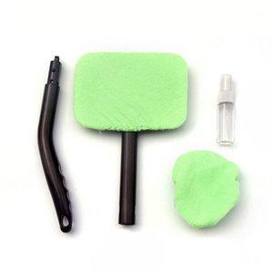 Piano parabrezza Easy Cleaner Clean Hard-to-Raggiungi Windows sulla tua auto Lavabile in casa con impugnatura ergonomica Microfiber Bonnet1