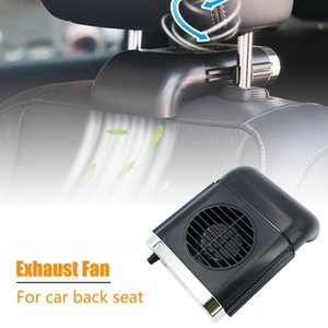 Chaud! Ventilateur de siège de la voiture Fan Mini USB Ventilateur d'échappement Portable Radiateur Air Refroidissement à air noir
