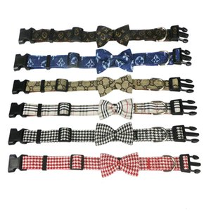 Fashion New pet collar bow tie dog leash cat bow collar dog bow band collar bands