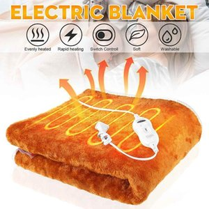 Electric Blanket Thicker Heater Double Body Warmer 145x175cm Heated Blanket Thermostat Electric Heating Heating1