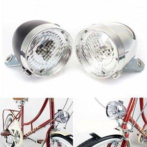 Impermeable Alta Calidad Ingeniero ABS Plastics Classic 3 LED Vintage Bike Faritubra Bicicleta Retro Head Light Front Fog Lamp 1