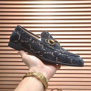 A1 Italien Luxus Designer Mens Rote Bottoms Schuhe Flat Echtes Leder Business Casual Schuhe Herren Party Liebhaber Hochzeit Kleid Schuhe Größe 38-45