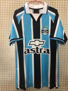2000 Gremio FBPA Retro Soccer Jersey Home Classic Vintage Camicia da calcio S-2XL