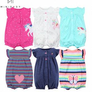 Orangemom лето детской одежды девушка Цельная Комбинезоны детская одежды, хлопок коротких ползунки детской одежда девушки roupas Menina дом Pto8 #