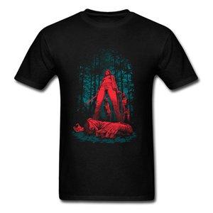 2018 fresco Discount Tops Savage crueldade Huntress algodão macio Tecido Lazer Camiseta O Neck Top Quality Designers Camiseta Homens gráfico Hoodie