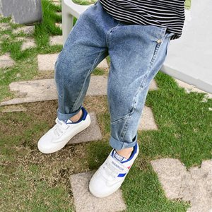 Boys' Jeans Spring and Autumn 2021 New Korean Thin Children's Long Pants