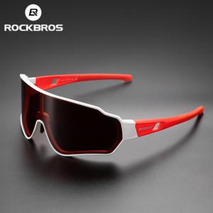 Rockbros polarisierte radfahren brille männer frauen outdoor sport wandern sonnenbrille photochromic brillen innerer rahmen fahrrad gläser