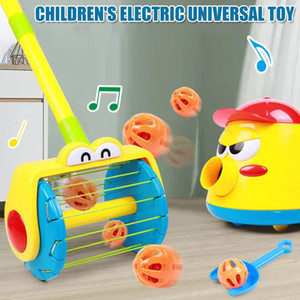 Electric Push Walker and Whirl Ball Launchers Walker Set Baby Vacuum Cleaner Christmas montessori toys toys children