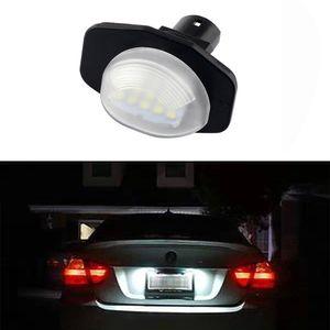 2Pcs Car 18Leds License Plate Lights Plastic for Toyota Alphard Auris Corolla Sienna Scion Led Number Licence Plate Ligh