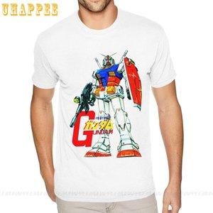 Мобильный костюм Gundam маленький размер для мужчин натуральные хлопковые футболки