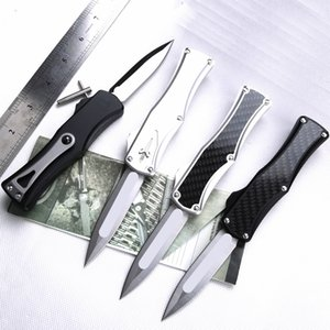 03Wholesale CNC d2 STEEL T6061 handle A14 UTX85 UT121 BM3300 BM3500 camping automatic knife Benchmade knife EDC tool hunting pocket knives