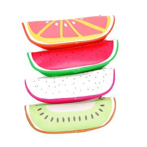 نمط الفاكهة لطيف مدرسة مقلمة للبنات الجدة جلدية اللوازم حقيبة رصاص مكتبية للمدارس والمكاتب