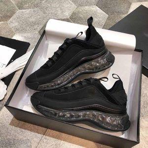 Hot Sale trainers super fashion casual Shoes Suede Calfskin Velvet Grosgrain Black women's sports shoes good quality designer sneaker 35-41