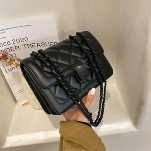 Woman Messenger Bag Handbag Quality Designer Design Check Chain New High Bag Texture Fashion HBP Shoulder Bag Fashion Handbag Lady Vxiqm