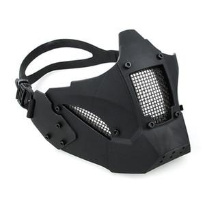 AF 헬멧 촬영에 AR (15 개) 에어 소프트 전술 페인트 볼 액세서리 사냥 보호 남자 반 얼굴 JAY의 FAST 마스크