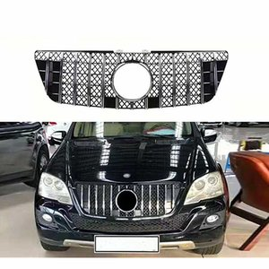 For m-ercedes ML Class W164 x164 Kidney Mesh Grille 2005-11 ML300 ML320 ML350 ML400 ML500 ML430 Car Grilles