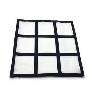 Sublimação Transferência Fronha 9 Painel Calor de Impressão Calor Travesseiro Coberturas DIY Almofada Throw Sofá Fronhas Fahrenheit Fahrenheit Pillow GWC3362