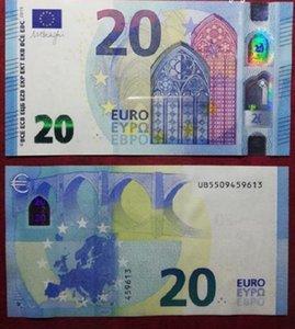 14 Çapraz Sınırlı Sihirli Bar Sahne 20 Euro 100 Yaprak Bir Simülasyon Paketi Euro Banknotlar Sprey Para Gun Euro oyunu