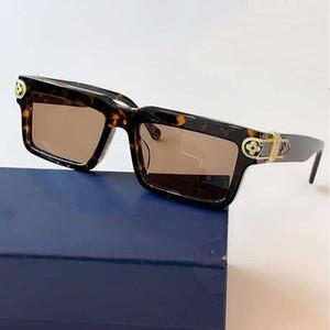 Mens Square Sunglasses Z1043 Mens Fashion Sunglasses Square Frame Resin Fiber Frame Flowers Decoration Holiday Sunglasses Original Box