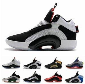 2020 nuevo Mens zapatos de baloncesto 35s Eclipse 2.0 Placa centro de gravedad Fragmento de zoom Jumpman 35 hombres entrenadores deportivos zapatillas de deporte des Chaussures