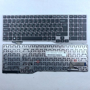 Russian Spanish US-International Thailand Laptop Keyboard For Fujistu E754 Lifebook E753 E756 E554 E556 RU SP US TI Layout