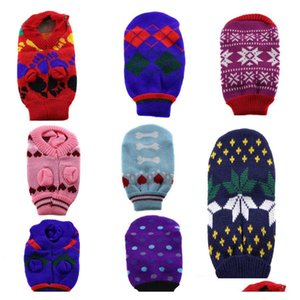 small medium dogs cats rabbits chihuahua sleeveless sweater knitted knitting coat clothes knitwear dog clothes assorted colors eRXUe