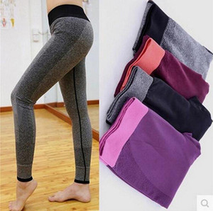 Womens Designer Yoga pant denim leather new Sportwear Tracksuits Fitness flame Sport Clothes gym wear fashion woman leggings lady outfits