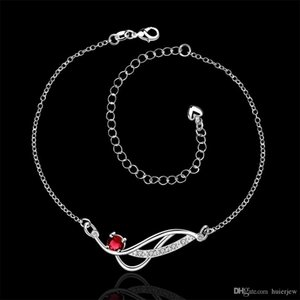 Foot Jewelry Silver Plated Anklets Body Jewelry Charms Leg Bracelet Korean Anklet