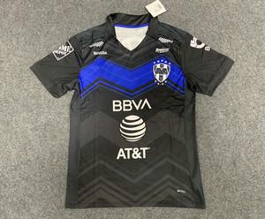 2020 2021 FC Monterrey Soccer Jerseys Home Troisième Funes Funes Mori 20 21 Rayados 75 ans Kit anniversaire Janssen Layun Sanchez Shirt de football