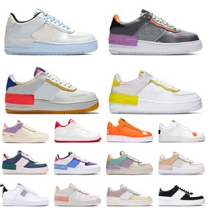 Top Dunk 1 men women fashion platform sneakers utility black triple white volt red olive Flax high low cut mens basketball skateboard shoes